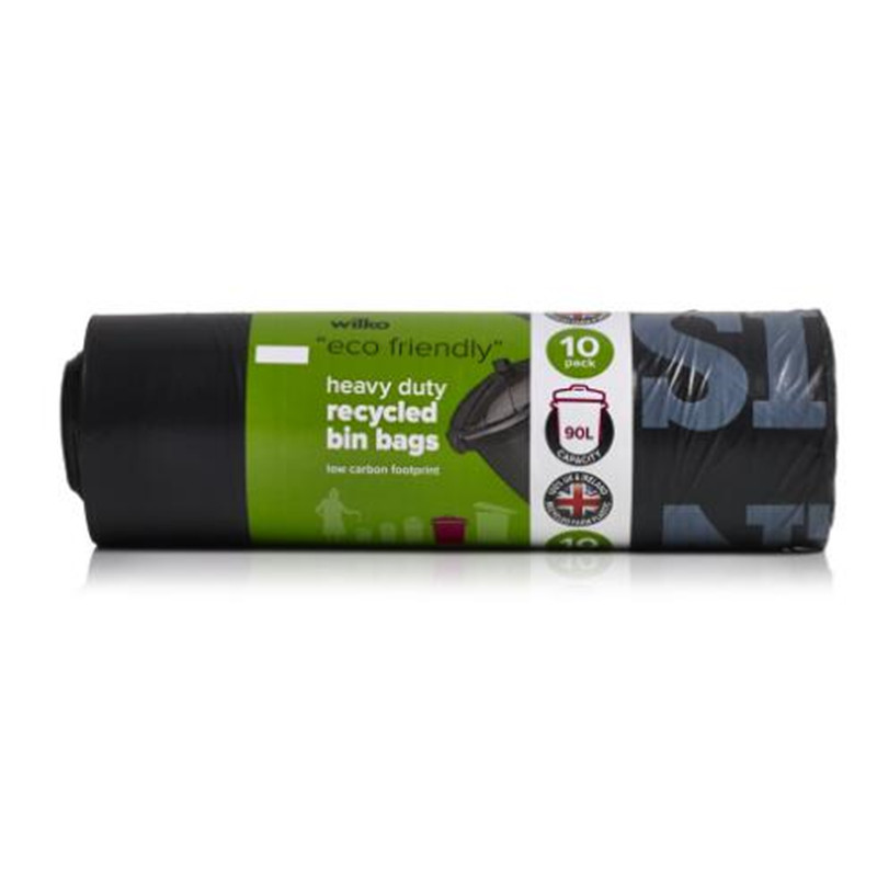 Eco-Friendly Full Biodegradable Compostable Custom PLA Garbage Bags on Roll