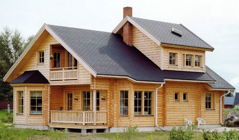 import material solid wood log cabin homes for sale