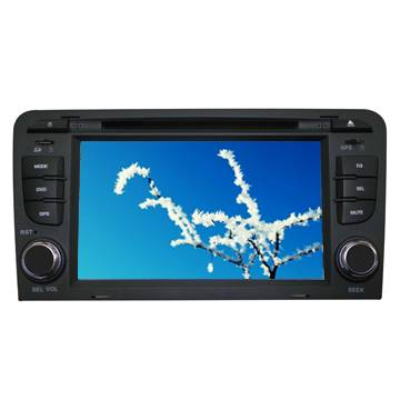 AUDI A4 car gps navigation device with Bluetooth Ipod wholesale