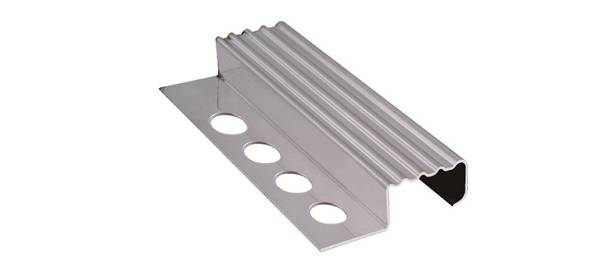 stainless steel stair nosing strip
