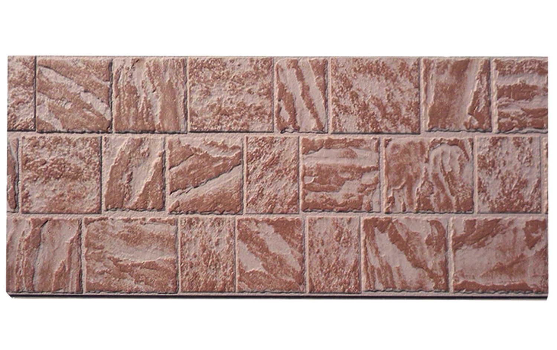 BNBM SOLID / fiber cement siding /relief grain/ Stone effect / cladding board /16mm