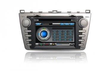 MAZDA 6 DVD Player with built-in gps/Bluetooth/USB/SD card/IPOD Function/Built-in DVB-T