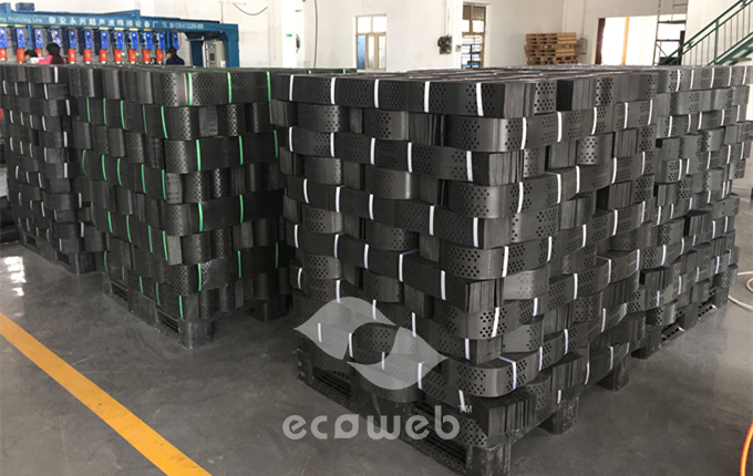 Ecoweb HDPE Geocell for Load Support