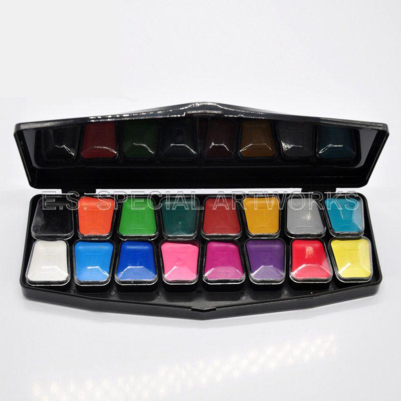 ES-FPE-004 16 Color Black Package Palette