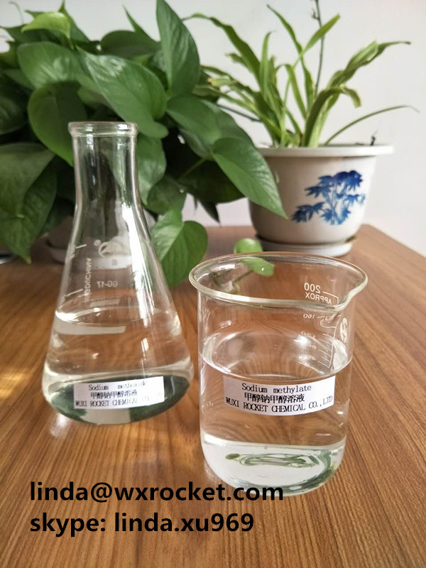 99%min Sodium Methoxide Methanol Solution Colourless Or Yellowish