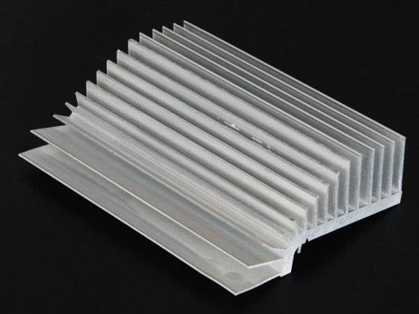 Aluminum heat sink, aluminum profile extrusion