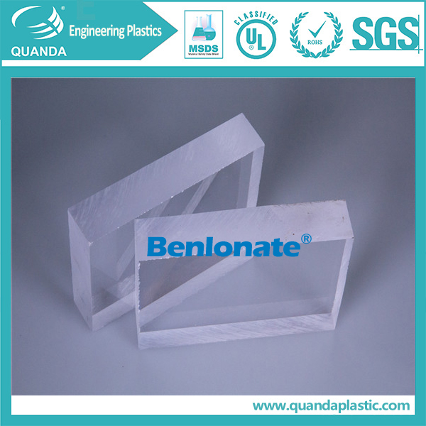 High impact resistance clear PC plastic sheet