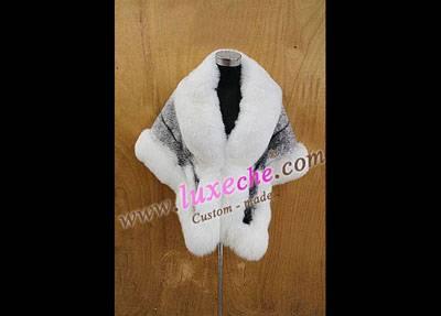 sell whole america & euro mink shawl 100% handwork ,custom made coat products