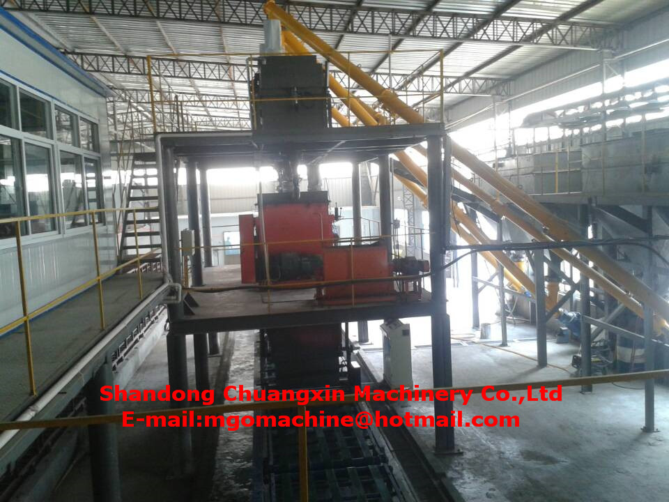 25M1.58M1.79M Size Mgo Board Making Machine for Ceiling Wall Skirting