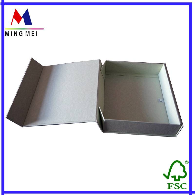 foldable paper gift box with magnetic