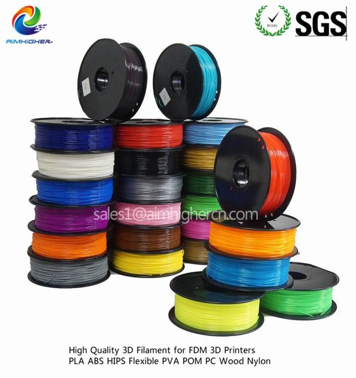 1.75mm ABS 3D printer Filament Wholesale factory price