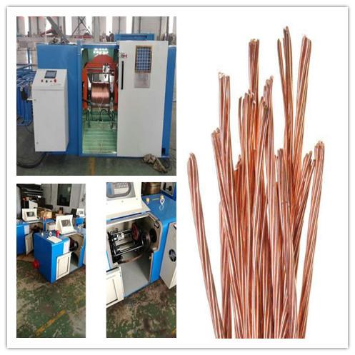 Auto High Speed Metal Steel/Copper Wire Twisting/Stranding Machine