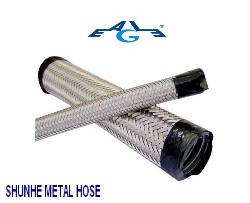 pvc coated flexible conduit with ss wire braided