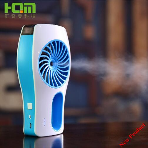 Cool Mist Spray Mini Fan Handheld Rechargeable Battery Operated