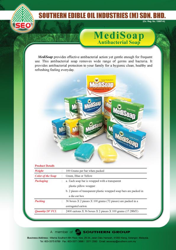 MediSoap Antibacterial Soap