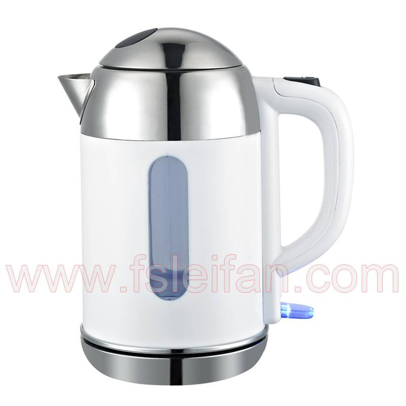 double layers attractive electric glass kettle