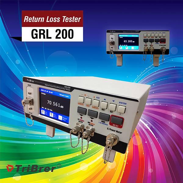 Insertion Loss Tester and Return Loss Tester Tribrer Brand GRL200