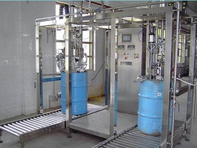 Aseptic Bag Filling Machine Double Heads