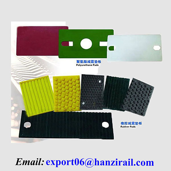 Hot Selling Railway Accessories Rubber Pads