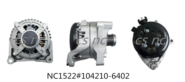 Denso Alternator Generator NC1522(12V 210A, 104210-6402