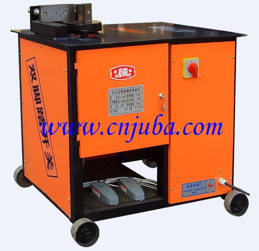 steel bar stirrup bending machine