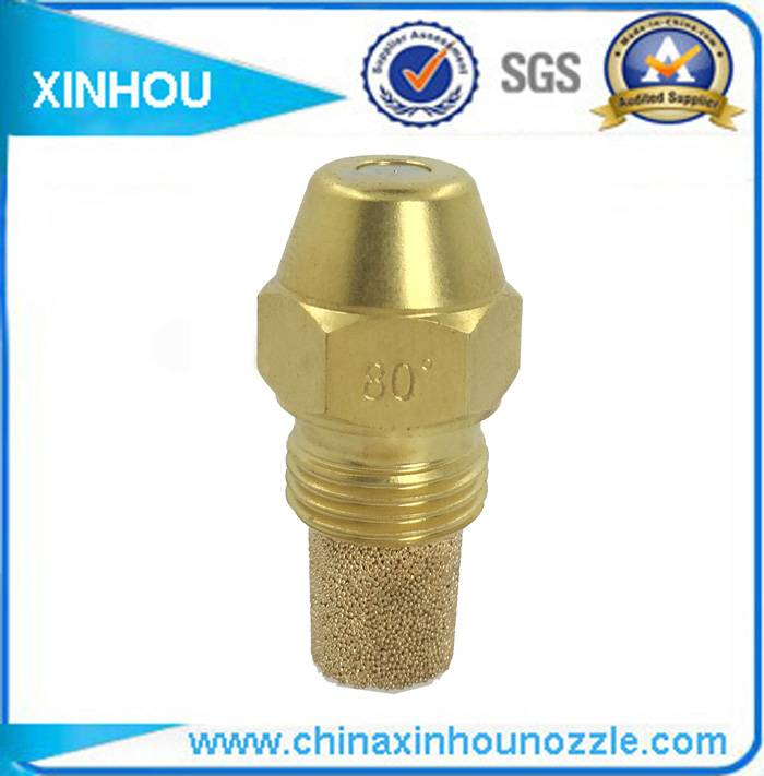Water mist fuel injector oil burner nozzle