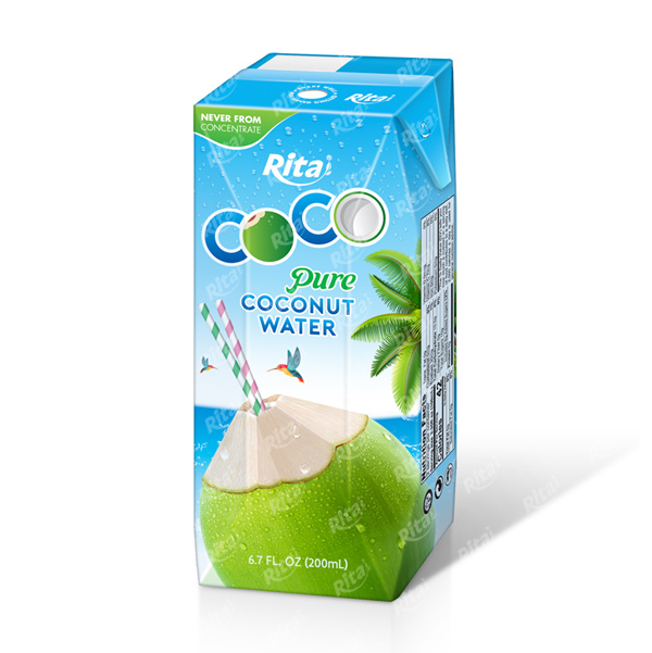 Wholesale Healthy 200ml Pure Coconut Water