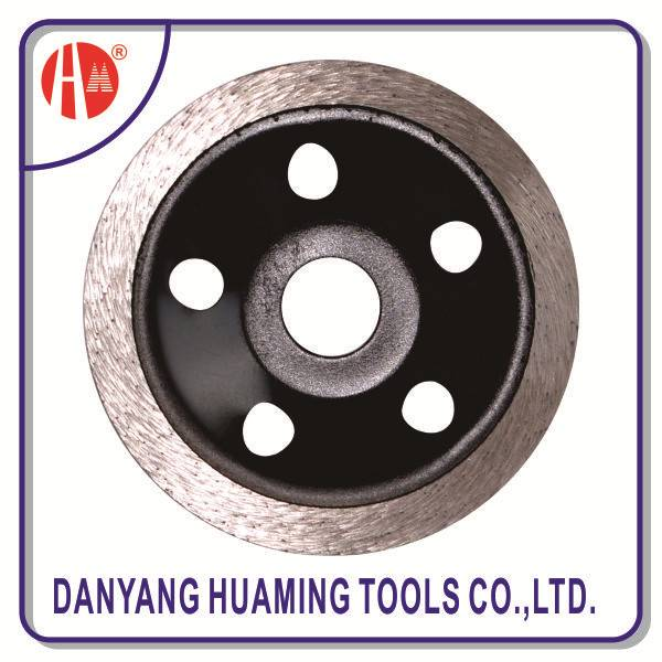 sintered diamond continuous cup grinding wheel