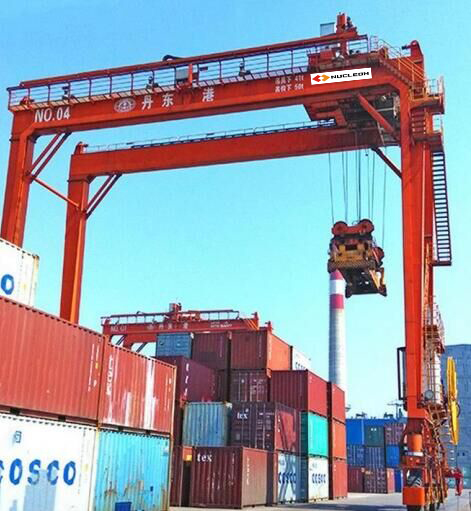 RTG Model Container Gantry crane 50Ton For Sale