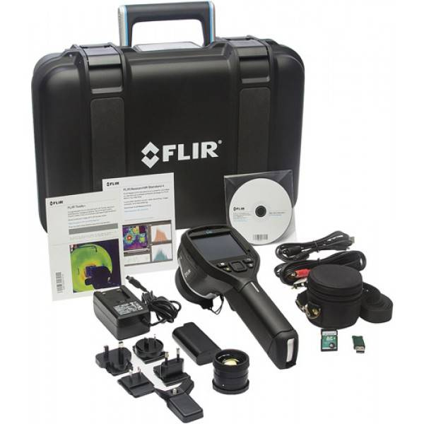FLIR E40sc Infrared Camera Benchtop Test Kit