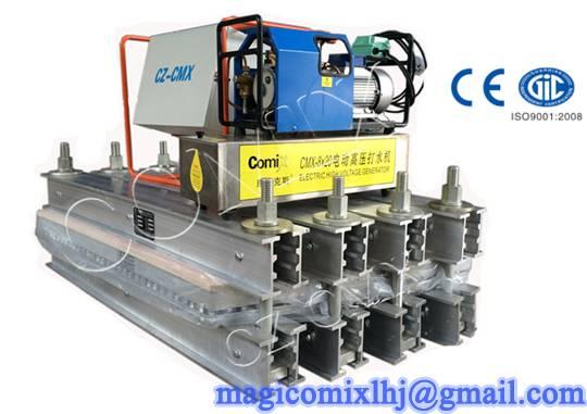 CZ-CMX Electrothermal Rubber Conveyor Belt Splicing Machine