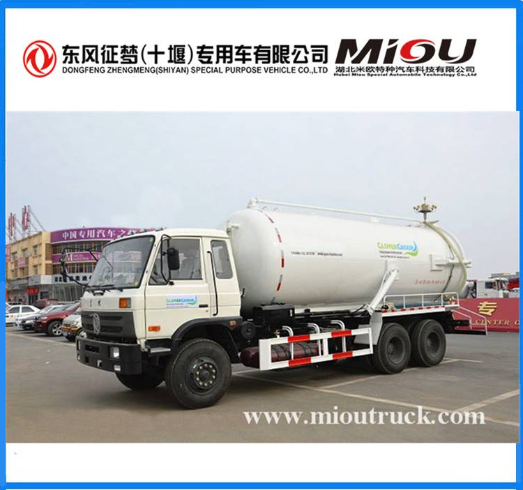 Dongfeng 6x4 18CBM Sewage Suction Truck XZL5251GXW4 for sale
