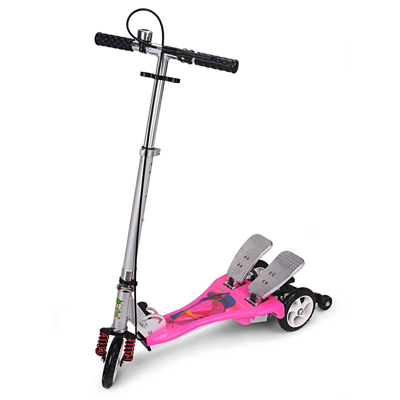 Chidren pedal scooters