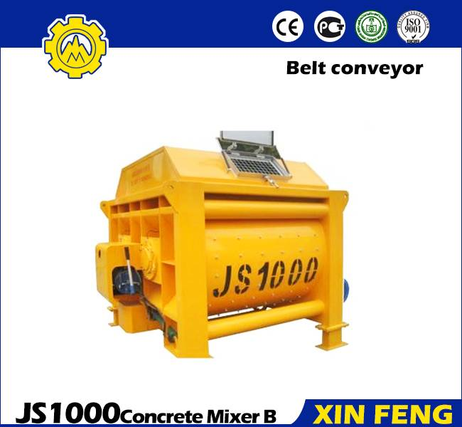 Xinfeng JS Twin Shaft Concrete Mixer JS1000
