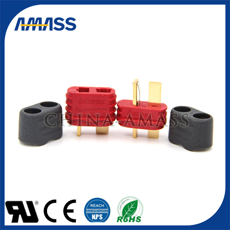 Lithium power battery plug for electric car, lithium battery connector AM-1015E for electric bicycle