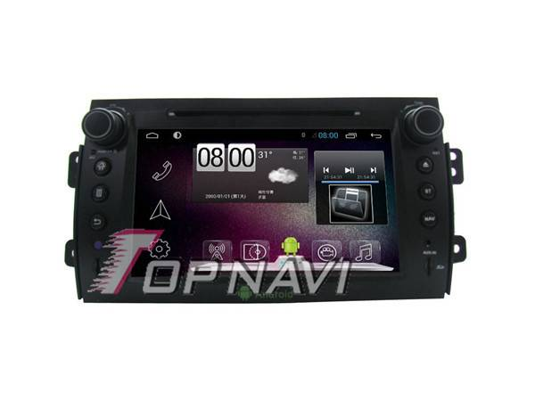800*480 8inch Android 4.4 Car GPS Player Video For Suzuki SX4 Navigation Ipod
