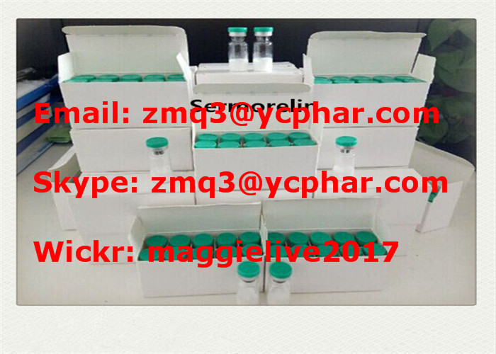Sermorelin Growth Peptide Steroid Hormones Sermorelin 5mg for Muscle Bodybuilding