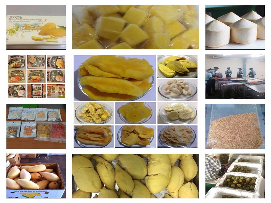 Dried / Freeze Dried / Frozen Fruits / Fresh Fruits