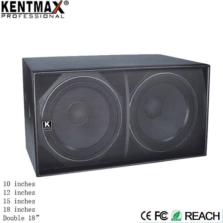 Premium Quality Double 18 Inch Big Bass Subwoofer Speakers