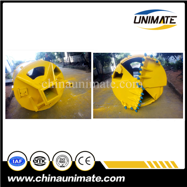 High Quality Piling Tools,Rock Drilling Bucket,Piling Rig Drilling Bucket