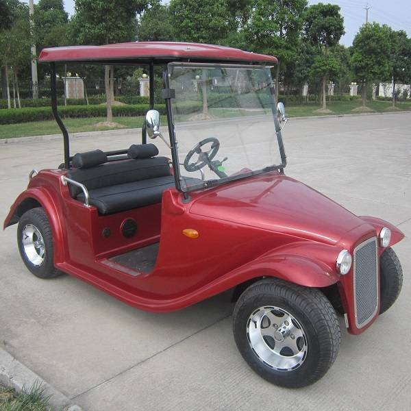 Marshell 4 seat electric vintage car with CE