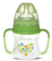 120ml Wide-neck finger bottle with hanger( dual color)