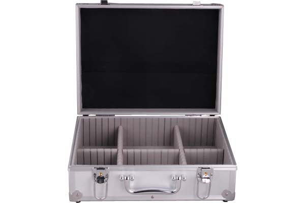 Aluminium Tool Storage Case with Elastic Holders