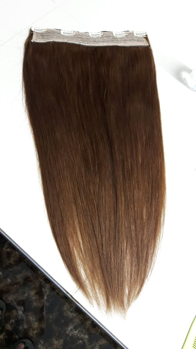 Single Weft Clip-in Hair Extension
