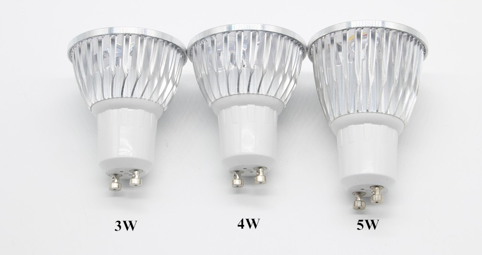 Ampoule Led Spotlight GU5.3 220V Lampada De Led Bulbs Light Bulb GU10 AC85-265V High Power 3W 4W 5W
