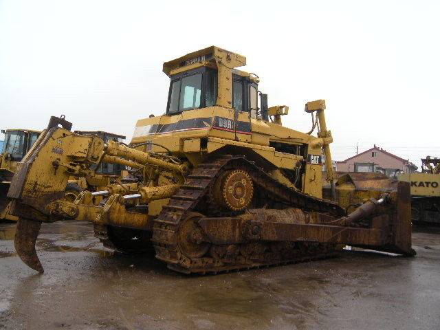 D9R Used Caterpillar Bulldozer with ripper year 1997 used 18150 hours