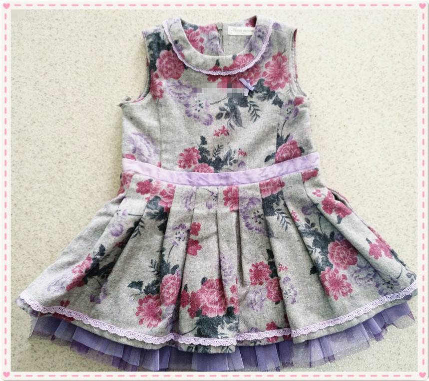 2016 the most popular girls' dress