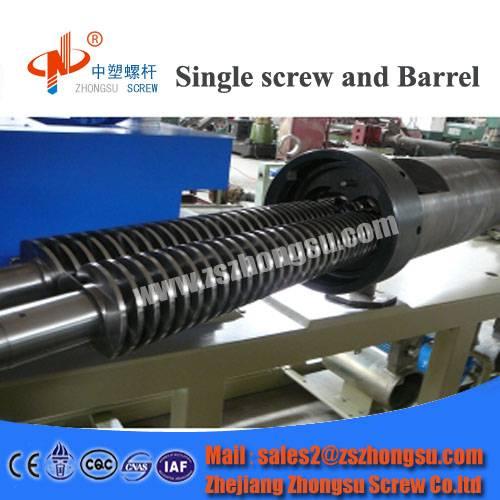 Bimetallic Single/Twin Screw Barrel for Extrusion