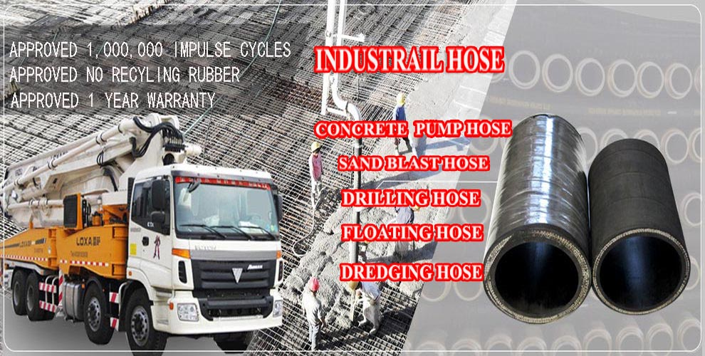 Big Diameter Rubber Cement Hose