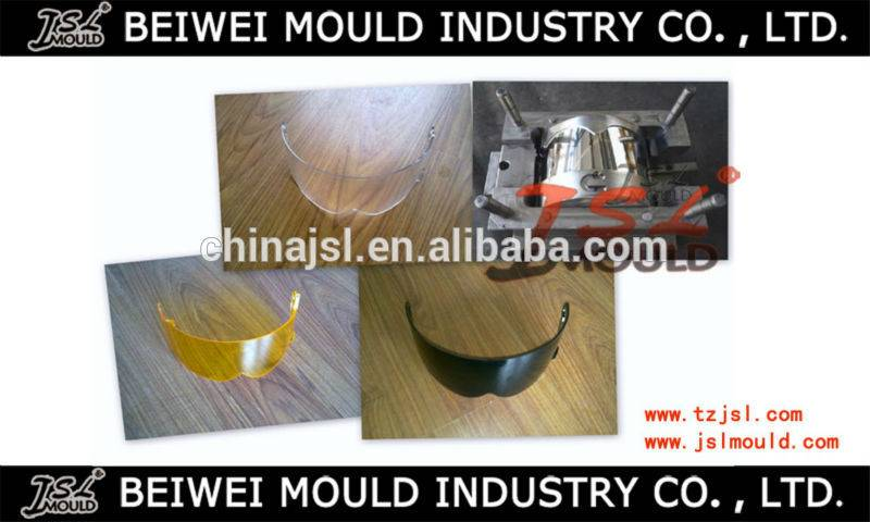 plastic motorcycle helmet shield visor mould manufacturer